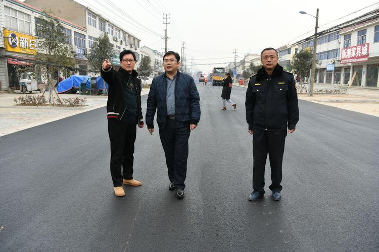 雷竞技网页:街道提档升级改善人居环境